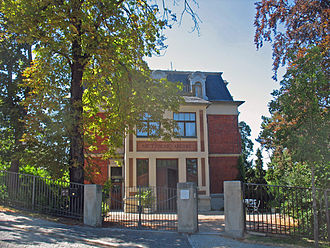 Library of Friedrich Nietzsche - The Nietzsche Archives in Weimar, Germany.