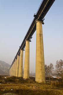 Nanjing–Xian railway