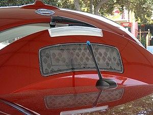English: Detail of the Nissan LEAF SL Solar Sp...