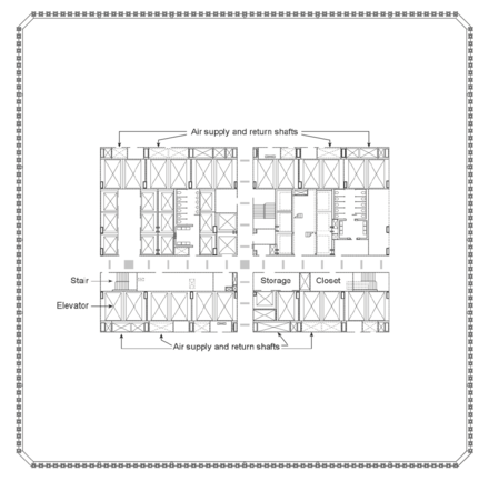 Typical WTC architectural floor plan Nistncstar1-1-fig2-4.png