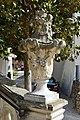 Nitra - Nitriansky hrad - váza na schodisku II.jpg