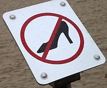 357d1faaac8 High heel policy - Wikipedia