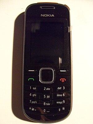 Nokia 1661 - Image: Nokia 1661 front