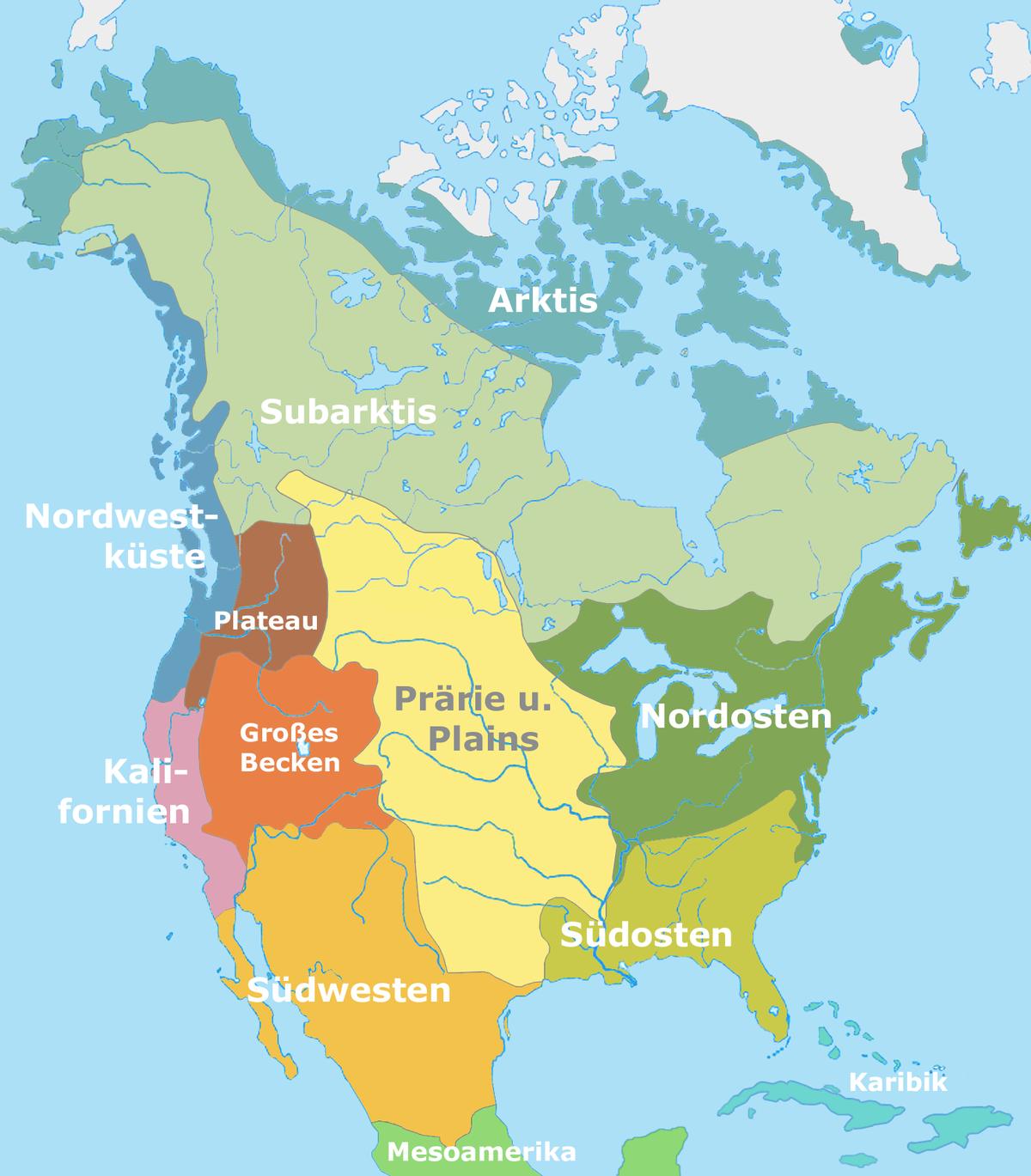 1200px Nordamerikanische Kulturareale