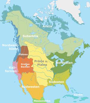 Nordamerikanische Kulturareale