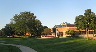 North Riverside, Illinois - North Riverside Village Commons, which houses village offices and a recreation center.