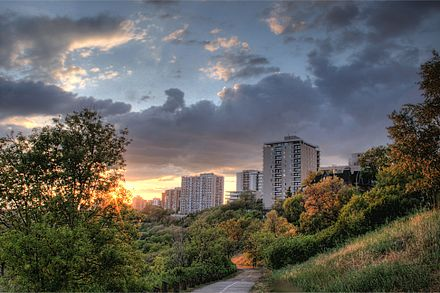 Edmonton wikiwand a trail in the north saskatchewan river valley parks system sciox Images
