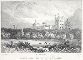 North West View Of Penrhyn Castle