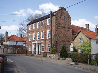 Northwold farm village in the United Kingdom