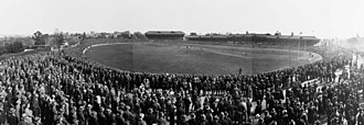 1929 SANFL Grand Final - Image: Norwood vs Port Adelaide, 1929 SANFL Grand Final, Adelaide Oval