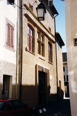 Nostradamus - Nostradamus's house at Salon-de-Provence, as reconstructed after the 1909 Lambesc earthquake