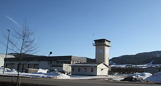Notodden Airport, Tuven airport in Telemark, Norway