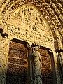 Notre-Dame de Paris - Portail du Jugement Dernier 02.jpg