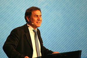 Nouriel Roubini, Turkish economist, professor ...