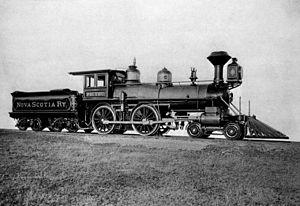 Nova Scotia Railway - Engine No. 6, Pictou
