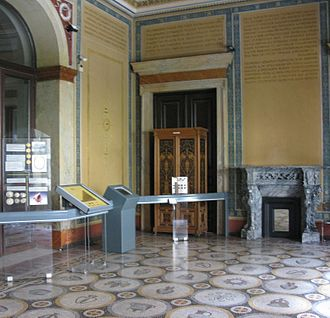 Numismatic Museum of Athens - View of the interior of the museum.