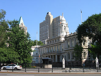 Civic Center, Manhattan - New York City Hall