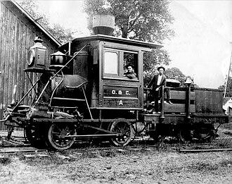 Oregon and California Railroad - Image: O and C Photo 01 (8072079456) (2)