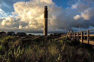 Caswell Beach, North Carolina - Caswell Beach–Oak Island Lighthouse