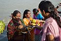 Offering to Sun God - Chhath Puja Ceremony - Baja Kadamtala Ghat - Kolkata 2013-11-09 4265.JPG