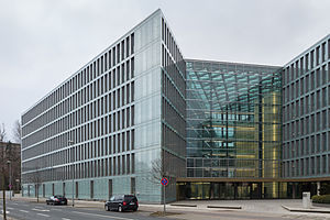 VHV Group - Office building of VHV insurance company in List, Hanover, Germany