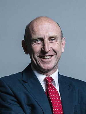 John Healey (politician) - Image: Official portrait of John Healey crop 2