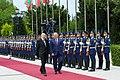 Official welcoming ceremony held for Moldovan president Igor Dodon 10.jpg