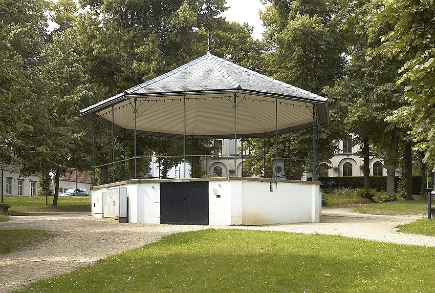 Bandstand in Ohain (part of Lasne) in Belgium