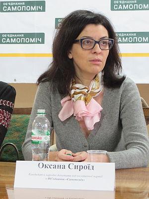 Oksana Syroyid - Syroyid in October 2014