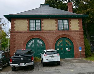 National Register of Historic Places listings in Penobscot County, Maine - Image: Old Bangor Fire Engine House No.6