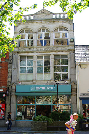 Old Burton Building in King Street, Truro, Cor...