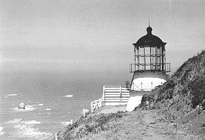 Cape Mendocino Light - Cape Mendocino Light (USCG)