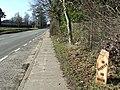 Old Milepost - geograph.org.uk - 1732846.jpg