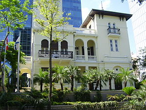 Yehuda Magidovitch - Image: Old Russian Embassy in Tel Aviv