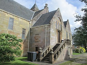 Old West Kirk - Entrance to the Schaw Aisle