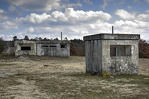 Záhorie (military district) - Abandoned observation bunkers
