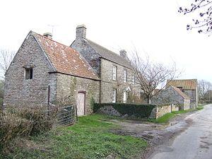 Shepperdine - Image: Old stone built farmhouse at Shepperdine. geograph.org.uk 314762