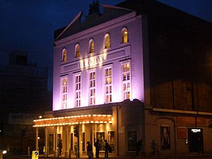 The Old Vic - The theatre at night