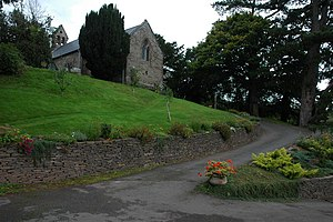 Oldcastle, Monmouthshire - Oldcastle church
