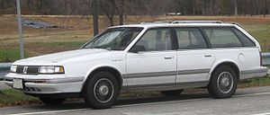 Oldsmobile Cutlass Ciera - 1989–1996 Cutlass Cruiser wagon