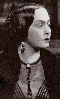 Olga Solbelli Italian film actress