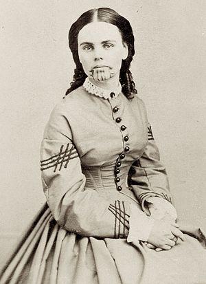 Olive Oatman - Olive Oatman, circa 1863