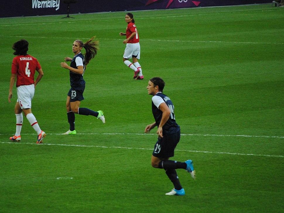 Olympic women's soccer final 2012