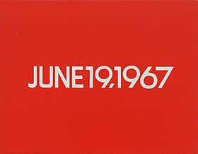 On Kawara, June 19, 1967 from Today Series, No. 108, 1966 - Black Power in the United States , 1967 (3785168562).jpg