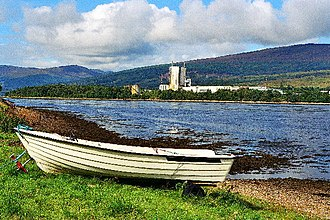Achaphubuil - Image: On the Shore, Achaphubuil geograph.org.uk 52773