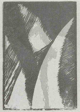 Kōshirō Onchi - Image: Onchi Dummkopf