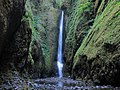 Oneonta Gorge Lower Falls at Columbia River Gorge in Oregon 1.jpg