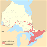 Ontario's municipality coverage