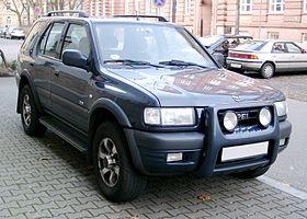 Opel Frontera Wikip 233 Dia