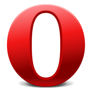 "Serif ""O"" used by the Opera Software..."